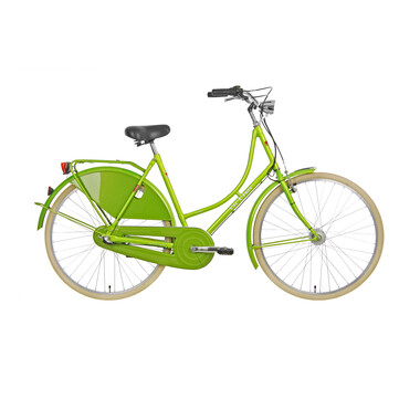 Vélo Hollandais ORTLER VAN DYCK WAVE Vert Brillant 2019